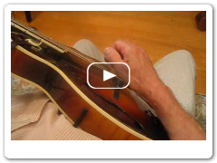 Bluegrass Mandolin - Right Hand Position - Roland White