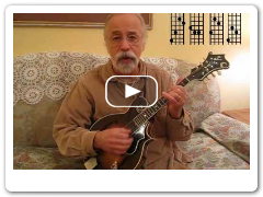 "Roland White Demonstrates ""G Chop"" Chords for Mandolin"