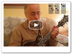 "Roland White Demonstrates ""A"" Chord for Mandolin"