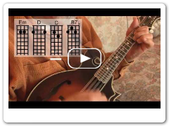 What Child Is This? easy mandolin chords - Roland White