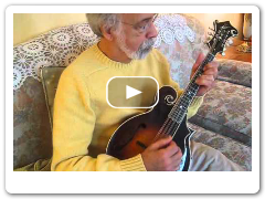 Auld Lang Syne with double stops - Roland White Mandolin
