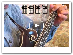 Away In A Manger- Easy Mandolin Chords by Roland White