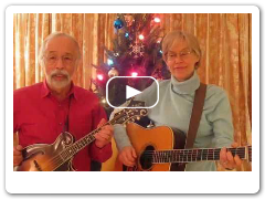Roland White plays Rudolph the Red-Nosed Reindeer - mandolin