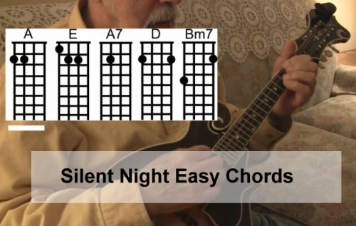 Silent Night- Easy Mandolin Chords by Roland White