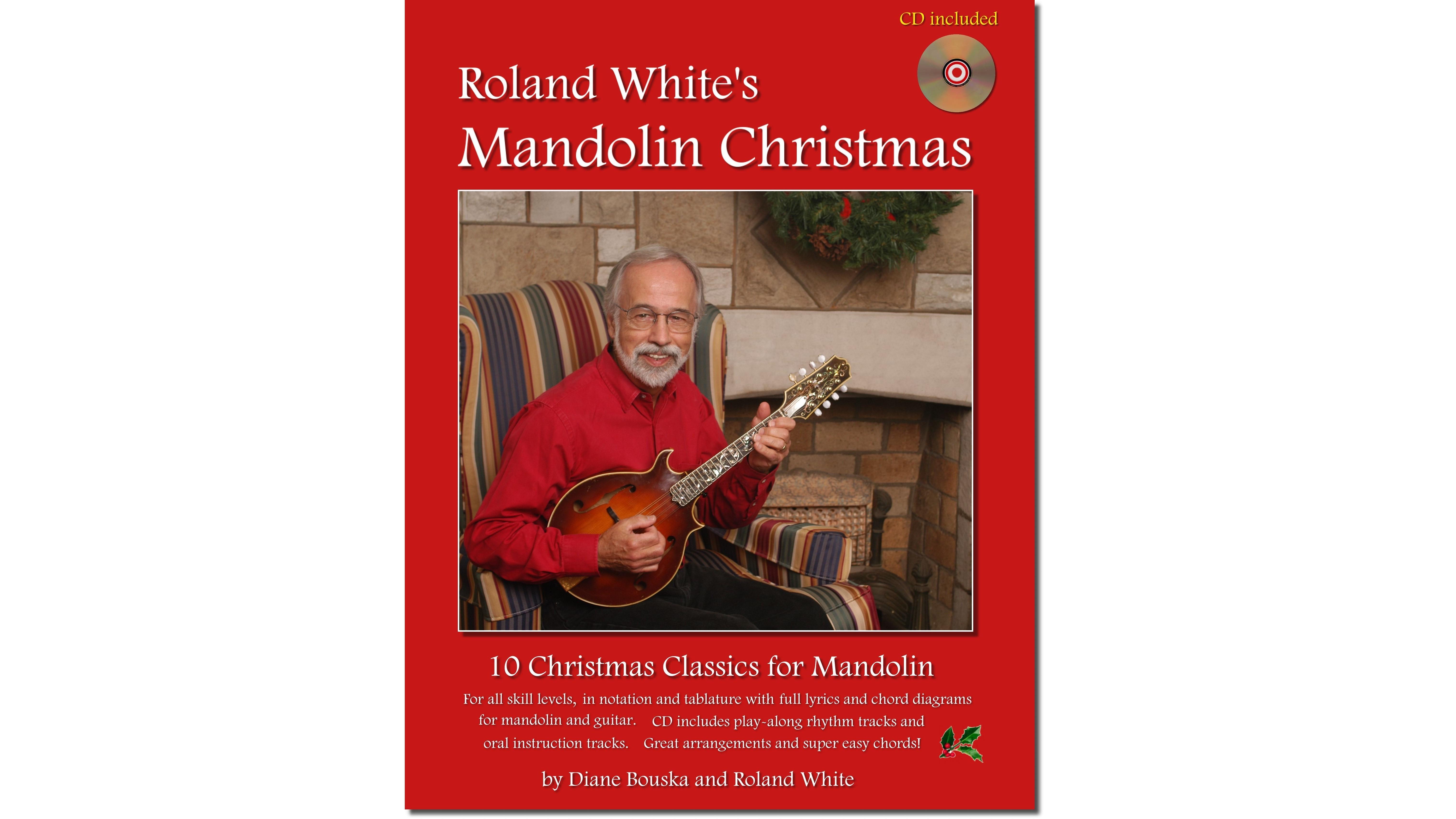 Roland Whites Bluegrass Mandolin Cds And Instruction Books